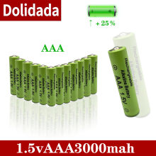 new brand AAA battery 3000mah 1.5V alkaline AAA rechargeable battery for remote control toy light battery