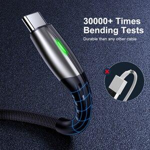5А 2 м USB Type C кабель Micro USB быстрая зарядка мобильный телефон Android зарядное устройство Type-C кабель для передачи данных для Huawei P40 Samsung Xiaomi Redmi