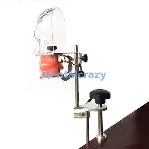 Image 2 - Dental simulator Nissin manikin phantom head Dental phantom head model with new style bench mount for dentist education