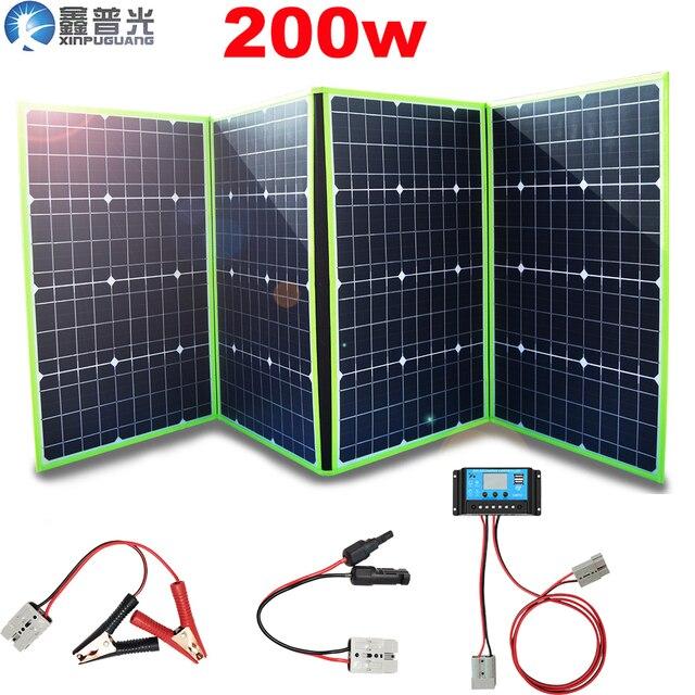 100W 120W 150W 200W 300W Solarpanel-Kit 20A Batterieladesteuerung für Wohnmobile