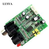 Lusya CS8416 CS4344 Optical Fiber Coaxial Digital Interface DAC Board Input 24-bit 192K Output Stereo Audio A5-009