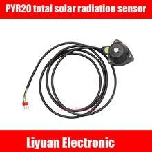 4-20MA PYR20 Radiação Solar/400-1100nm Piranômetro RS485 Do Sensor sensor de radiação solar Total/Total de radiação solar sensor 0-2V
