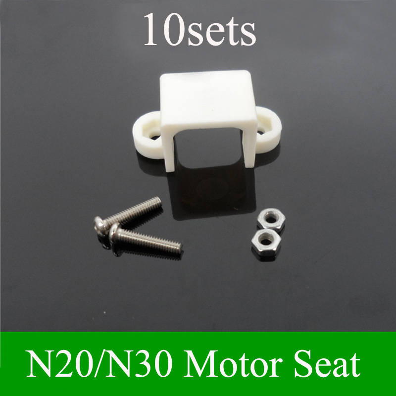 N20//N30 Gear Motor Bracket Motor Fixed Holder with Screws For DIY Model Parts