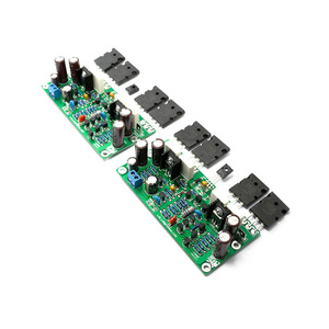 Image 4 - Lusya L20 SE Khuếch Đại Âm Thanh Ban A1943 C5200 Stereo Kép Kênh 350W Khuếch Đại Amp Ban 4ohm DIY Bộ Dụng Cụ 2 chiếc