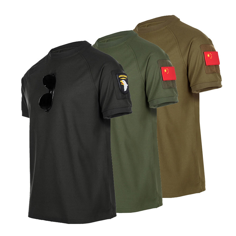 Men Army Military Tactical Camping Trekking Fishing Climbing Quick Dry T-Shirt Summer Fast Dry Pullerover Oversize Tees Pant