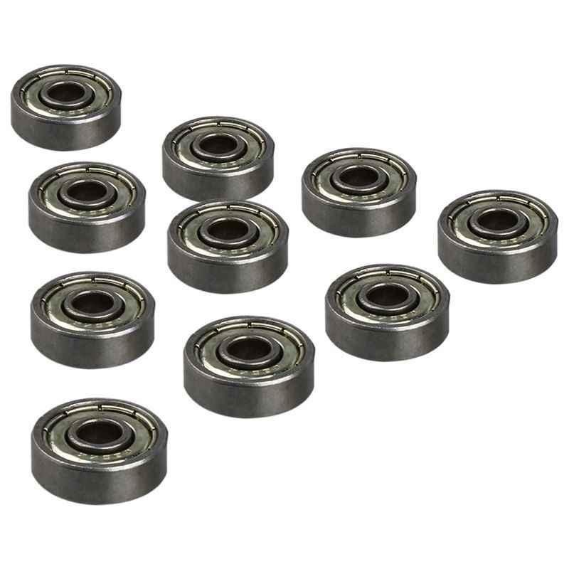 10pcs 625ZZ 5mm*16mm*5mm Carbon Steel Single Row Deep Groove Radial Ball Bearing
