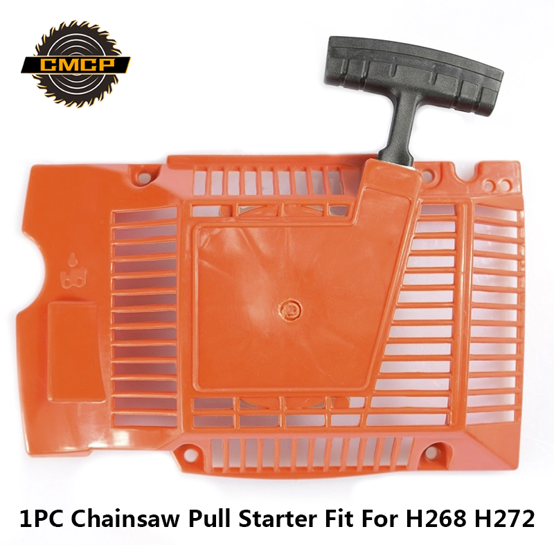1pc Chainsaw Pull Starter Fit For H268 H272 Husqvarna Chainsaw Recoil Pull Starter Chainsaw Parts Starter Chainsaw Starter