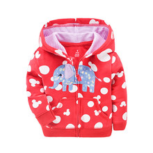 Casual Baby Boys Girls Hooded Sweatshirts Cotton Cartoon Tops Rabbit Bear Lion Outwear Kids Clothes For 9m-3years