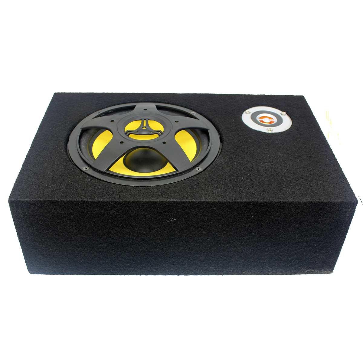 8 zoll 480W Unter-Sitz Auto Subwoofer Geändert Lautsprecher Stereo Audio Bass Verstärker Subwoofer Auto Audio Auto Lautsprecher