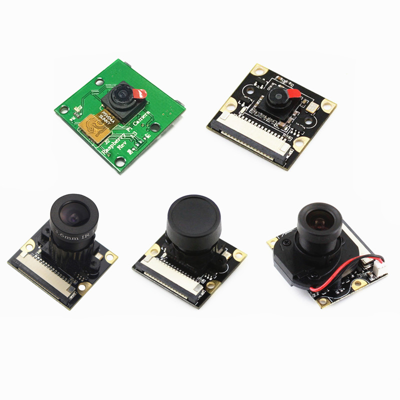 Raspberry Pi  Camera Module Board 5MP Webcam Video 1080p 720p 70° 160°  Night Version IR-Cut Camera For Raspberry Pi