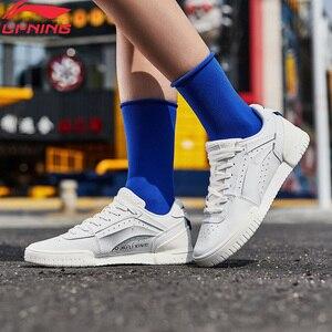 Li-Ning Women SIDEWALKS Basketball Culture Shoes Retro Leisure Sneakers LiNing li ning Breathable Sport Shoes AGBP048 YXB319(China)