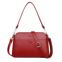 Women Genuine Leather Handbags Fashion Litchi lines Totes Big Hand Bags Red Women Shoulder Bags Ladies Crossbody Bags недорго, оригинальная цена