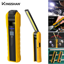 Flashlight With Magnet Work Lamp Car Flashlight  Multifunction Inspection Lamp Bottom With Magnet Rotatable Hook Working Lamp