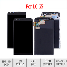 Original For LG G5 LCD Display Touch Screen Digitizer Assembly For LG G5 Display with Frame Replacement H850 H840 H860 H830 F700 все цены