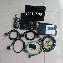 7 v 320gb программное обеспечение HDD с ноутбуком x201t i7cpu работает для mb sd подключения c5 mb star c5 sd мультиплексор и 5 кабелей готовы к использованию