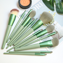 Makeup Brushes Set 13 Pcs Beauty Tools Make Up Brush Sets Cosmetic Foundation Blush Concealer Eyebrow Eyeshadow Powder Brush Etc
