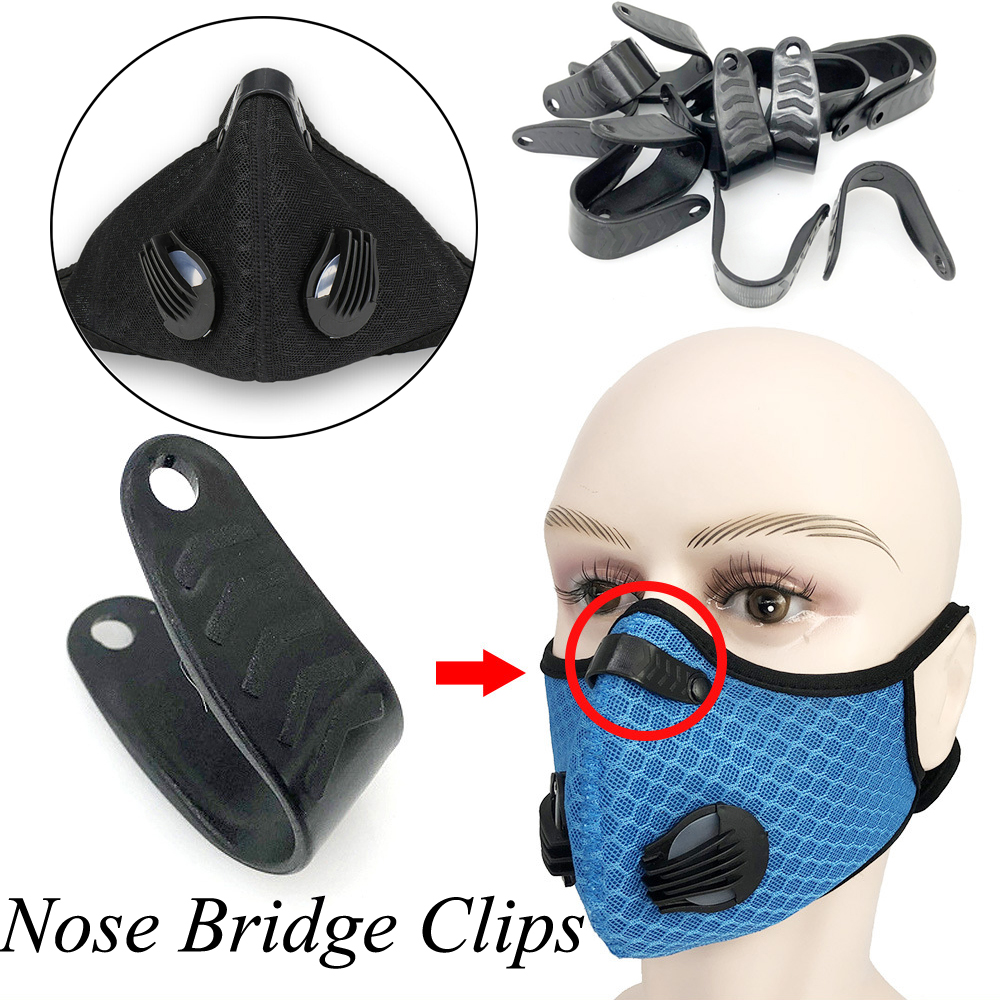 10pcs Professional Masks Nose Bridge Clips DIY Self Made Mouth Masks Anti Pollen Dustproof Making Accessories