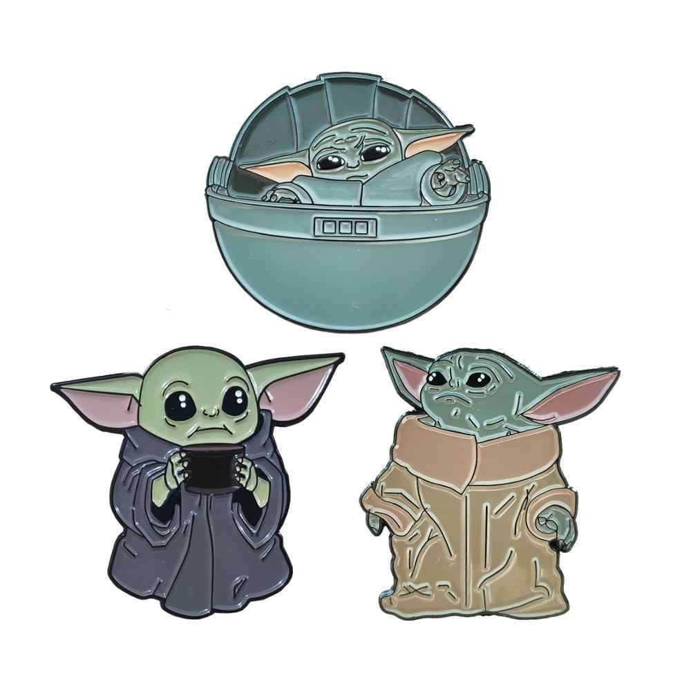 yoda duro smalto pin