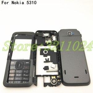 Image 1 - Новинка, чехол хорошего качества с полным покрытием, задняя крышка и английская клавиатура для Nokia 5310 с логотипом