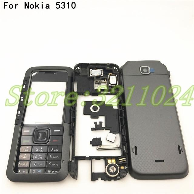 Новинка, чехол хорошего качества с полным покрытием, задняя крышка и английская клавиатура для Nokia 5310 с логотипом