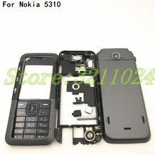 Good quality New Full Complete Mobile Phone Housing Cover Case+English Keypad For Nokia 5310 With Logo