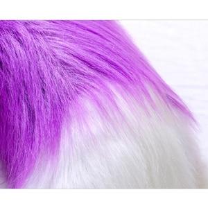 Image 5 - Conjunto de acessórios para cosplay de raposa, ola japonesa de pelúcia com cauda e orelhas de gato presente da festa,