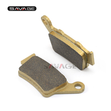 Rear Brake Pads For BMW F650GS/SCARVER F650CS F650ST F650 FUNDURO F700GS F800 R/S/ST/GT/GS/ADV Motorcycle Accessories