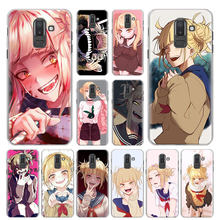My hero academia Himiko Toga Phone Case for Samsung Galaxy M10 M20 M30 M40 J4 J6 J8 2018 J4+ J6+ Hard Cover Capa(China)