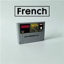 마나의 비밀 프랑스어 RPG 게임 카드 EUR 버전 배터리 저장
