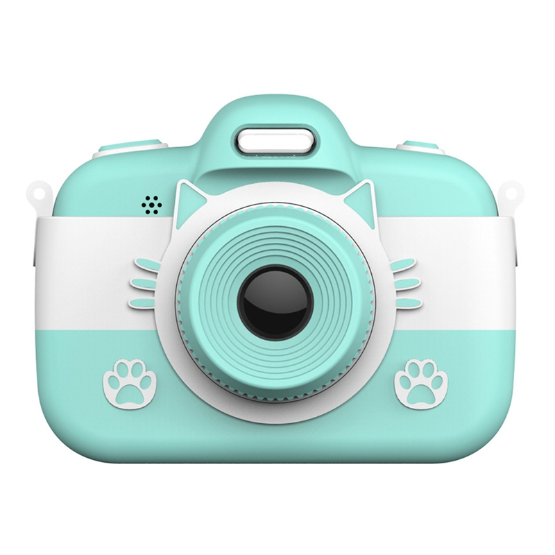 Kids Digital Camera Children Selfie Cartoon Video Recorder Camcorder 3 Inch Press Screen 18.0MP With 16G TF Card Gifts For Girls