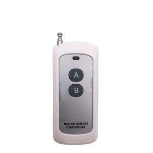 Image 3 - This 30A high power 433mhz AC220V1CH Relais Empfänger Mit Wireless Universal sender über 500meter verwenden für Fabrik Pumpe & DIY