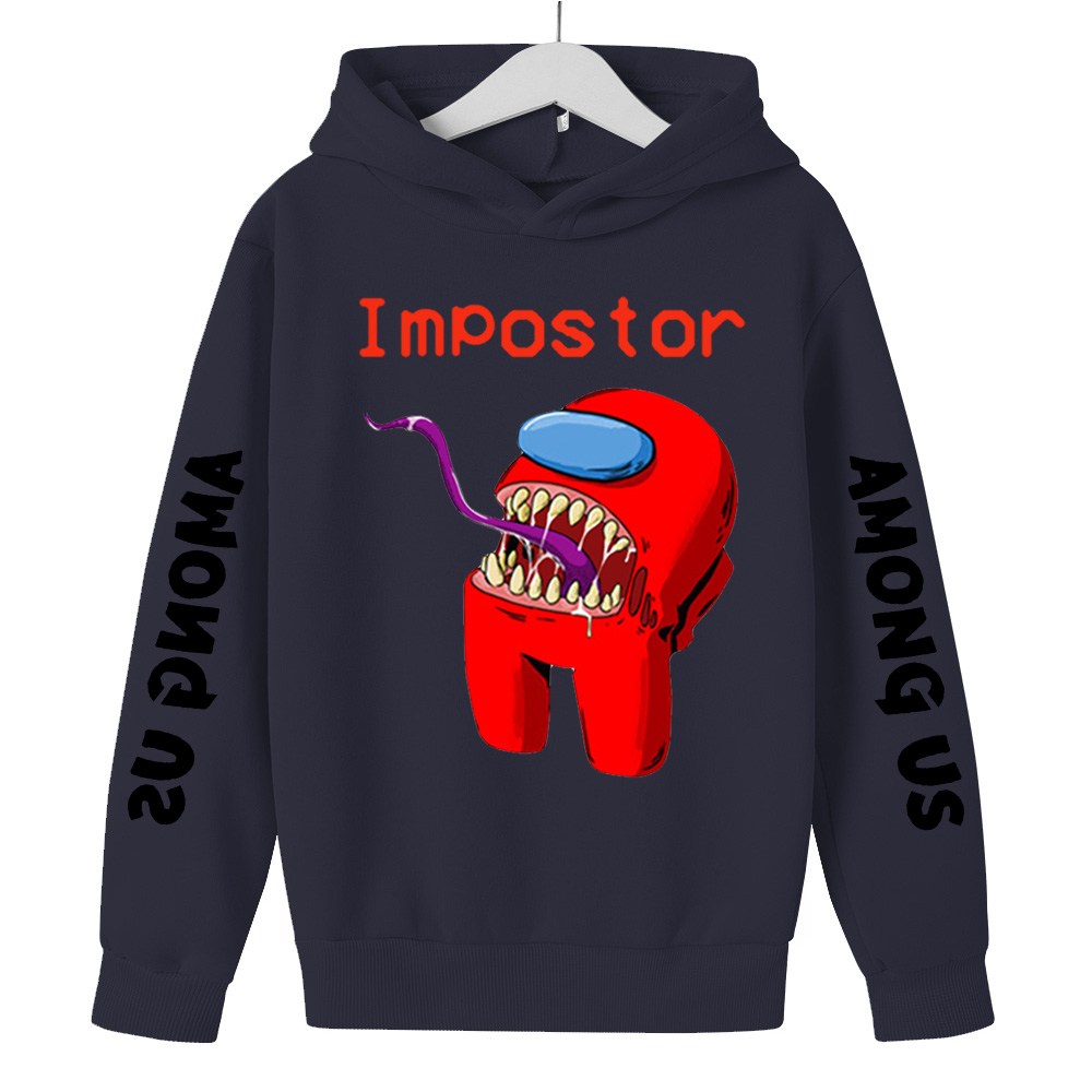 Children Clothing Among Us Clothes For Kid Girls Tops Boys Hoodie Impostor Graphic Costume Kids Sweatshirt Sudadera Hombre 4-14Y 1