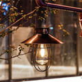 Solar Hanging Lanterns Vintage Outdoor Waterproof Solar Light with Warm LED Bulbs for Garden Yard Patio Pathway Xmas Party Decor