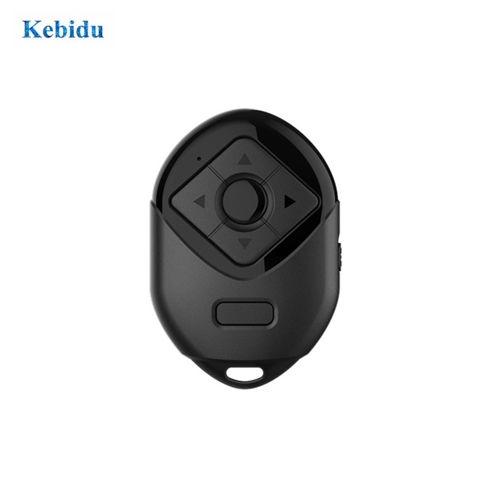 Пульт дистанционного управления kebidu для селфи, портативное мини-устройство для съемки фотографий, видео, паузы, воспроизведения музыки