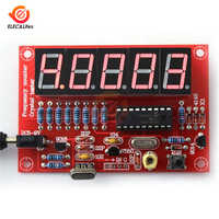 1Hz-50MHz Crystal Oscillator Frequency Counter Tester DIY Kit 5 Digits High precision LED Digital Frequency Meter Module