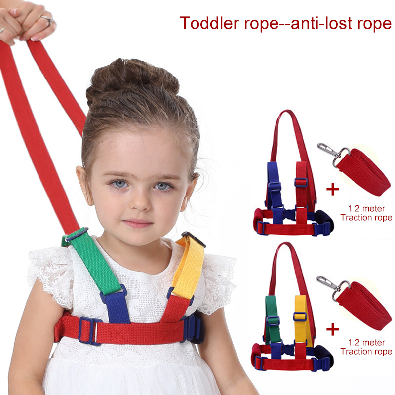 1PC Anti-Lost Band Toddler Walking Anti-Lost Rope Child Kids Safety Harness Anti Lost Strap Wrist For 1-10 Year Old Children