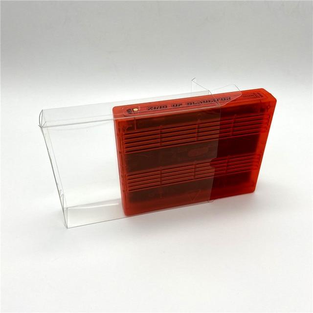 Pet expositor caixa coleção caixa de proteção para snk neogeo mvs jogo nu cartão