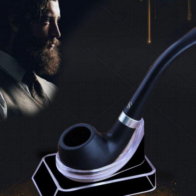 Vintage Bakelite Durable Tobacco Black Smoking Pipe Friend Family Gift Men Necessary Supplies