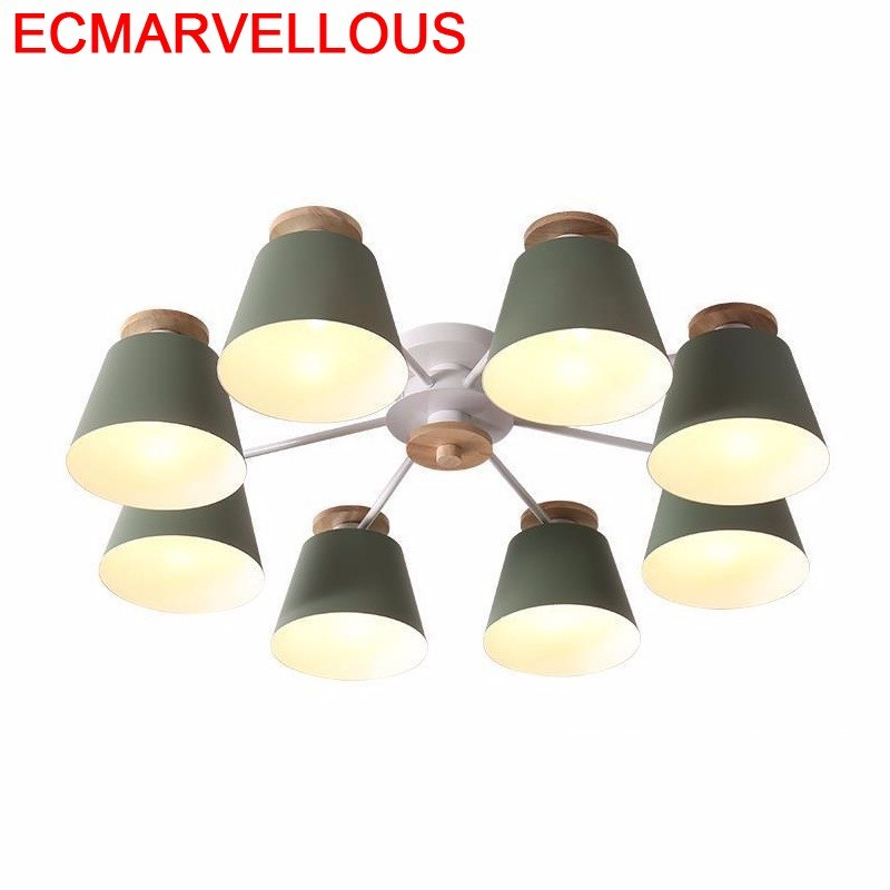 Home Lamp For Living Room Industrial Decor Plafon Lustre Lighting LED Lampara Techo Plafondlamp Plafonnier Ceiling Light in Ceiling Lights from Lights Lighting
