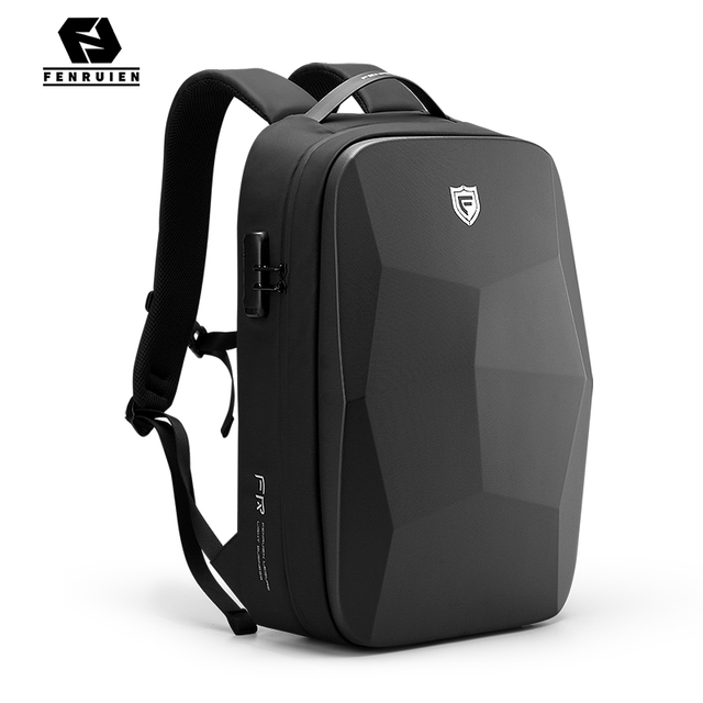 Fenruien Multifunction Men's Backpack 17.3 Inch Laptop Backpacks Anti-Theft Waterproof Business Backpacks Travel Bags 2020 New 2