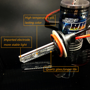 Image 2 - 2x HID Xenon Lamp 9006 HB4 wit Paars Roze Groen Blauw 35W 12V 3000K 4300K 50000K 6000K 8000K 10000K 12000K xenon Rijden fog