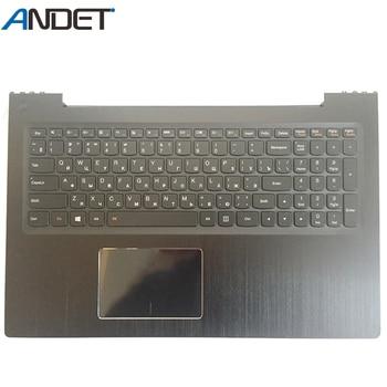 New Original For Lenovo IdeaPad U530 Palmrest Cover Ru Keyboard Bezel with Touchpad Backlit Black 90204072