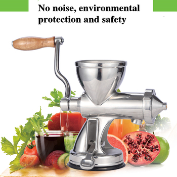 Stainless Steel wheat grass juicer Auger Slow squeezer Fruit Wheat Grass Vegetable orange juice press extractor ez 551 plastic material juice extractor juicer multifunctional fruit vegetable juicers 1501ml squeezer hand feed diameter 12cm