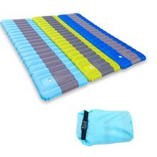 Tent Camping Mat Bed Inflatable Air Mattress Sleeping Pad 190x60x12cm Ultralight Portable Waterproof Outdoor Picnic