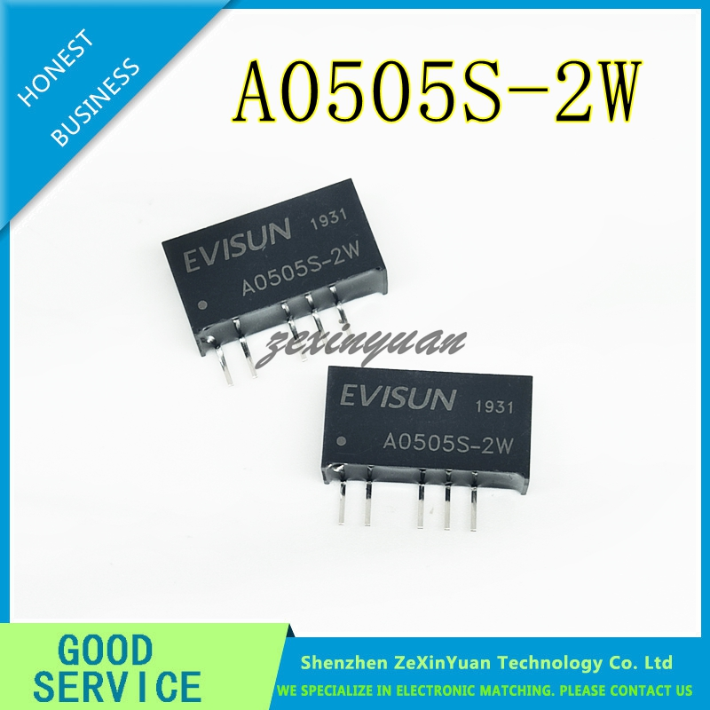 DC-DC with Isolated Power Supply Module A0505S-2W Dual Output 5V to Positive and Negative 5V