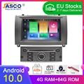 Новейший бренд Android 10,0 автомобильный DVD-плеер GPS ГЛОНАСС навигация для Peugeot 407 2004-2010 4 Гб RAM Мультимедиа Радио стереосистемы