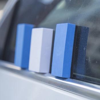 5/10Pcs Car Ceramic Coating EVA Sponge Glass Nano Wax Coat Applicator Pads For CAr Auto Wash Accessories Parts
