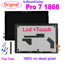 цена на Original Lcd For Microsoft Surface Pro 7 1866 LCD Display Touch Screen Digitizer Assembly For Microsoft Surface Pro7 Lcd Tools