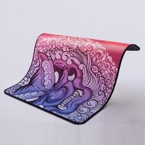 Image 2 - Original Esports tigre jeu LongTeng HuoYun lisse tapis de souris Flexible tapis de souris ourlet de haute qualité