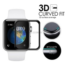 Protective-Film Screen-Protector-Cover Watch-Series Tempered-Glass Apple 3D for 1/2/3/4-38mm